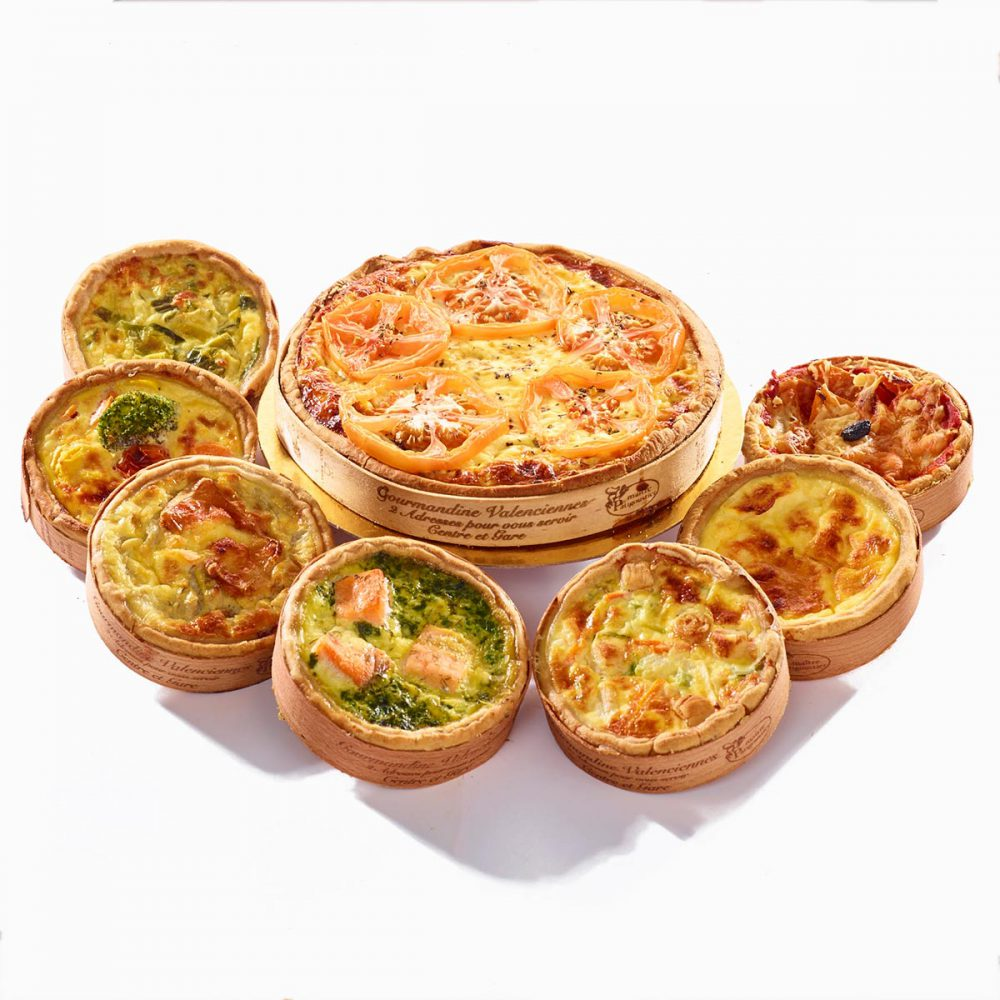 Quiches individuelles