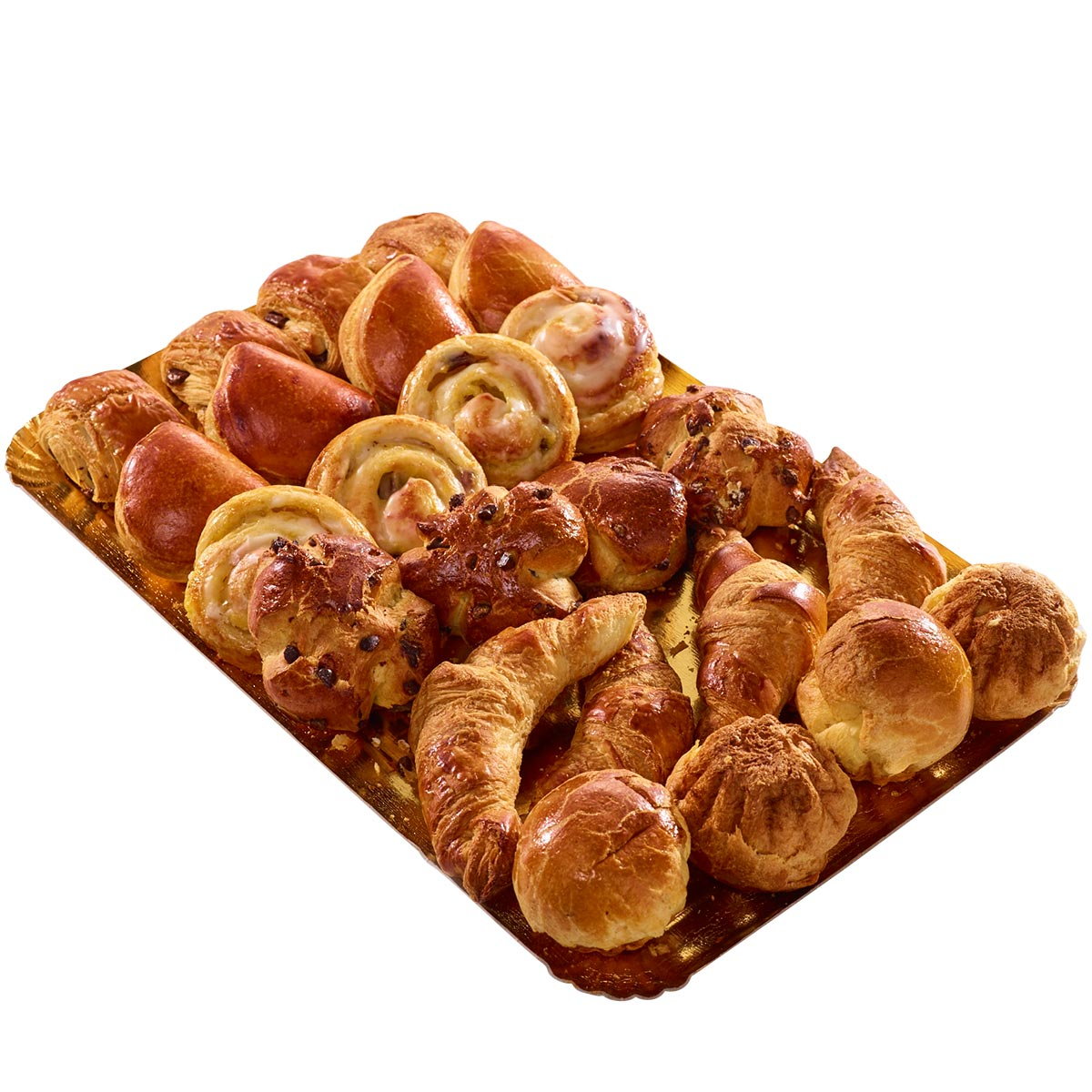 Assortiment de mini viennoiseries